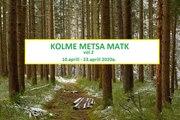 Kolme metsa orienteerumismatka püsirajad vol 2