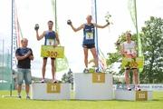 Maratoonar Roman Fosti võttis oma kolmanda ümber Viljandi järve jooksu võidu
