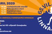 65.Viljandi Linnajooks toimub 8.novembril