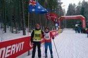 Austraallasest maratoniturist Adrian Robert Blake vaimustub suusatamisest Eestis