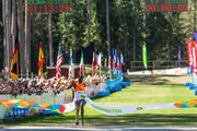 Ibrahim Mukunga Wachira won the Tartu Jooksumaraton with a spectacular fashion