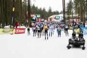 Estoloppeti avaetapp lükkub lumepuudusel edasi