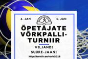 Õpetajate Võrkpallivõistlused toimuvad Viljandis