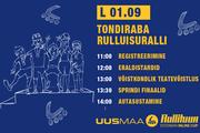 1. septembril lõpetame hooaja Tondiraba Rulluisuralliga!