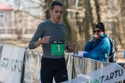 Parkmetsa jooksu võitsid Rauno Laumets ja Luna-Aleksandra Lagoda