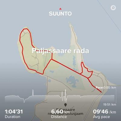 Viimasel kahel aastal populaarseks osutunud 6,6 km rada Paljassaare poolsaarel