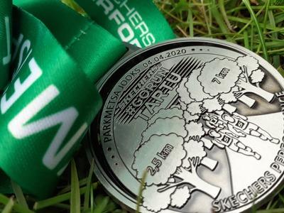 Parkmetsa kaugjooksu medal
