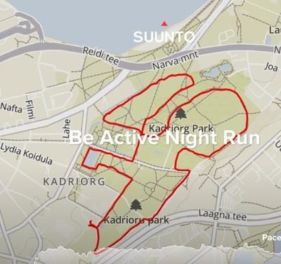 5 km rada läbib mitmeid Kadrioru pargi vaatamisväärsusi