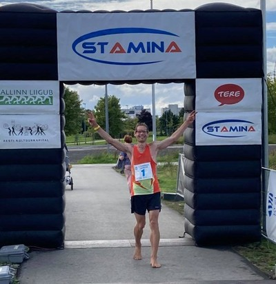 Gunnar Kingo võitjana finišis