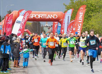 Sportland on olnud läbi aastate linnajooksu hea koostööpartner