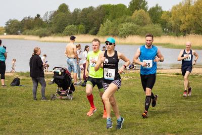 Ka 50.juubelijooksul kulgeb finišisirge Harku järve rannas