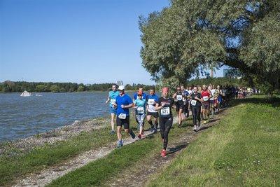 Vaid üks korda aastas, Ülemiste järve jooksupäeval, pääsevad jooksjad vahetult järve äärde jooksma
