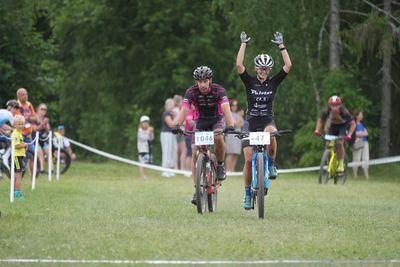 Jannelle Uibokand tulemas Eesti meistrina finišisse.