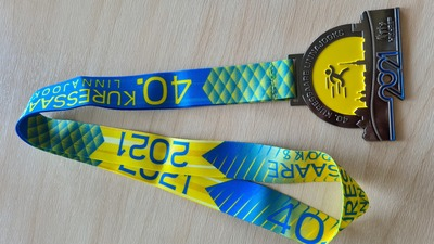 Kuressaare linnajooksu uus medal