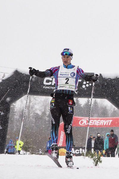 17. Tamsalu-Neeruti maratoni võitja Morten Priks. Foto: Kaimo Puniste