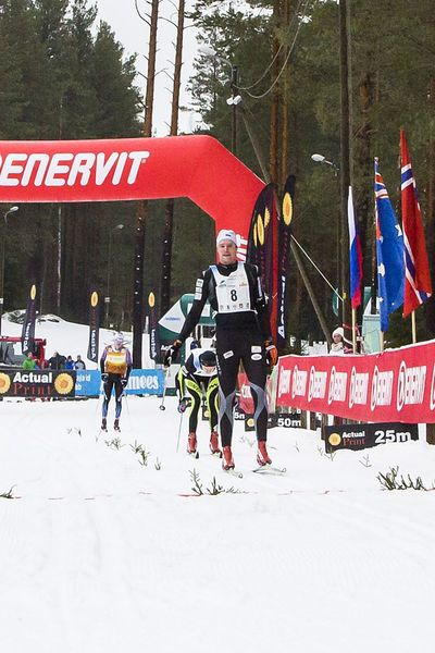 17. Alutaguse maratoni kiireim mees Kein Einaste (Foto: Kaimo Puniste)