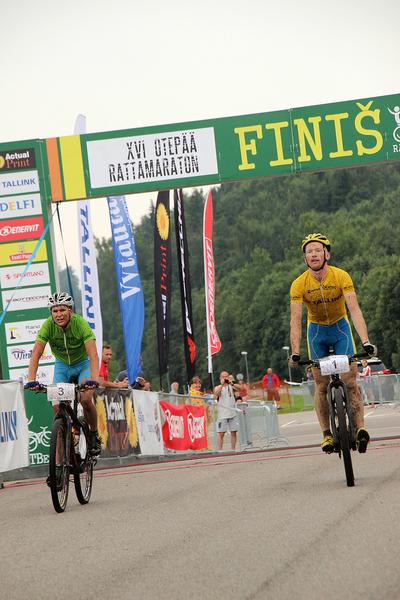 16. Otepää Rattamaratoni finiš. Pilt: Külli Leola
