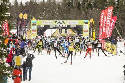 18. Tallinna suusamaratoni start (foto Kaimo Puniste)