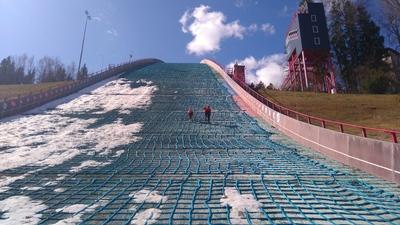 Meie Liigume Tehvandi Mäejooksu finiš asub Tehvandi hüppemäe maandumisnõlva otsas.