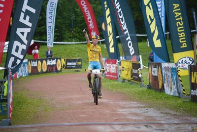 Caspar Austa võitis Rakke rattamaratoni (foto: Maksim Tund)