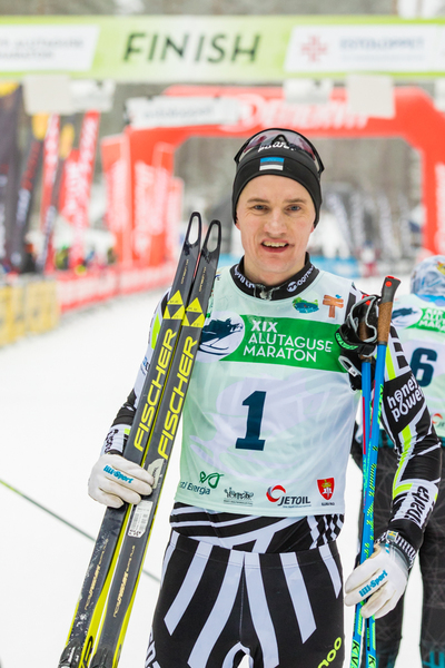 19. Alutaguse suusamaratoni võitja Martti Himma (foto: Tarmo Haud)