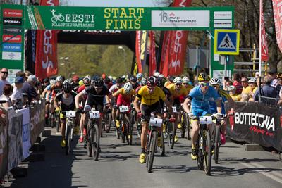 16. Mulgi Rattamaratoni start Viljandi kesklinnast