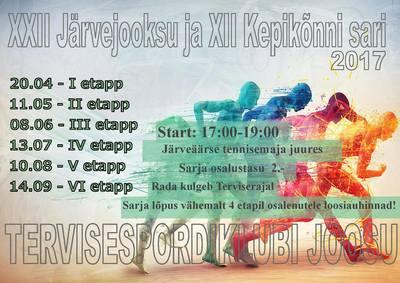 22.Viljandi järvejooksu ja 12.kepikõnni sarja 1.etapp