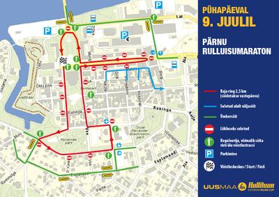 Pärnu etapi rajakaart