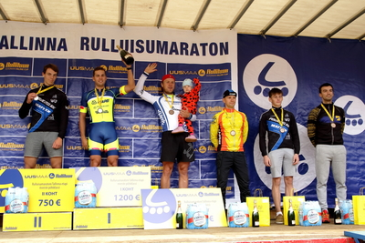 Tallinna Rulluisumaratoni võitjad