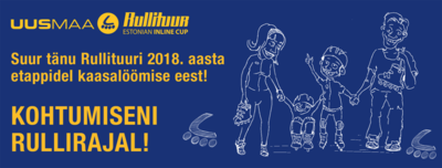 Rullituuri 2018. aasta hooajal on joon all!