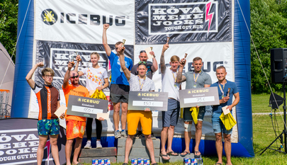 Pärnu Päästekomando võitis esimese Icebug Kõva Tiimi Jooksu