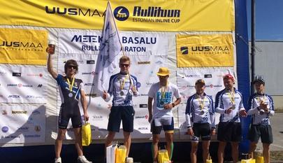 Estonian Inline Cup Metek Tabasalu Stage winner is Kaspar Kaljuvee!