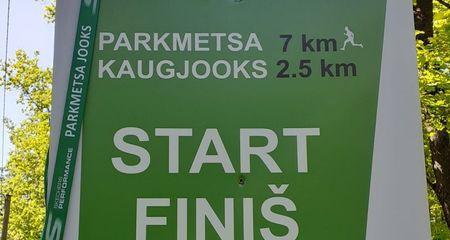 Parkmetsa kaugjooksul osales 600 spordisõpra