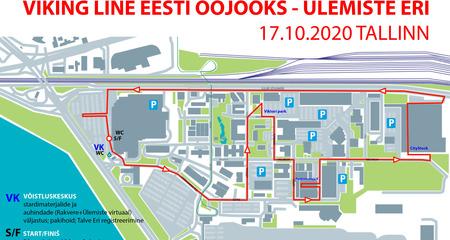 Tallinna Ööjooks Ülemistel toimub reaalselt, kuid ilma Cappy lastejooksudeta.