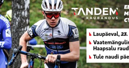 Eesti meistrid cyclo-crossis selguvad 23. oktoobril Haapsalus Tandem Kaubandus Eesti meistrivõistlustel.