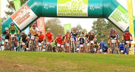 Täna toimunud RMK Kõrvemaa Rattamaratonil tulid võitjateks Helmet Tamkõrv ja Greete Steinburg