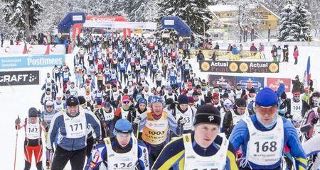 Viis meest lähevad 80-ndat korda Estoloppeti sarja maratoni starti