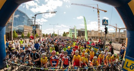 All children are welcome to participate in a great cycling event in Tartu