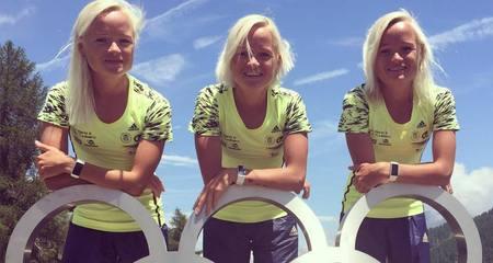 Õed  Liina, Leila ja Lily Luik innustavad maratonil osalema kõiki naisi