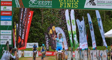 Bosch Eesti Maastikurattasarja viienda etapi võitsid Caspar Austa ja Greete Steinburg