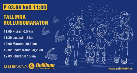 Tallinna Rulluisumaratoni soodusregistreerimine lõpeb täna!