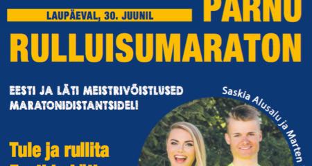 Parimad rullitavad Pärnus!