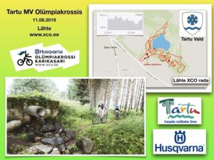Husqvarna Eesti Olümpiakrossi karikasari V etapp/ 4. Lähte XCO/Tartu MV Olümpiakrossis