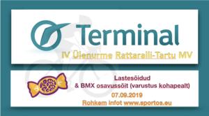 Tartu Terminali IV Ülenurme Rattaralli- Tartu MV ühisstart