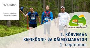 2. Kõrvemaa kepikõnni- ja käimismaraton