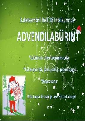 Advendilabürint orienteerumine