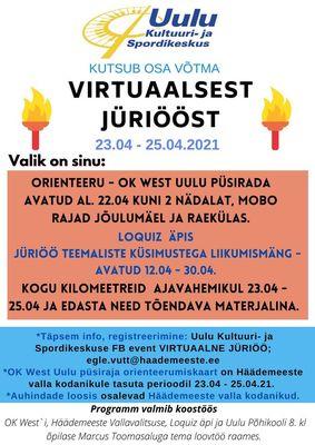 Virtuaalne Jüriöö Häädemeeste vallas