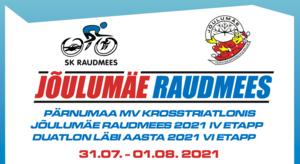 Jõulumäe Raudmees/Pärnumaa MV krosstriatlonis